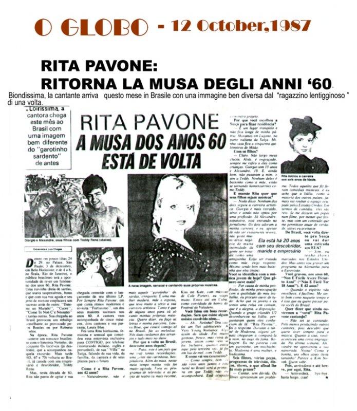 Rita pavone - Oglo o ...